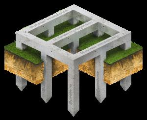 Фундамент Ростверк